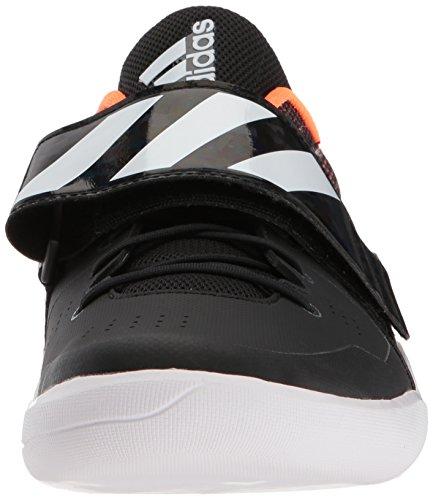 Chaussure Adidas Adizero Piste Disque / Marteau Noyau Noir, Blanc Ftwr, Orange