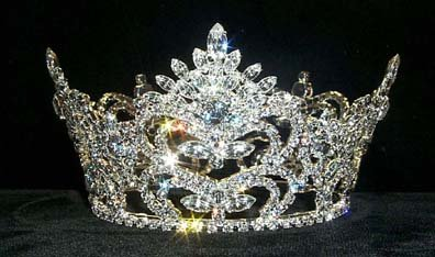 #8681 Pageant Prize Med Crown (Pageant Tiara Prize)
