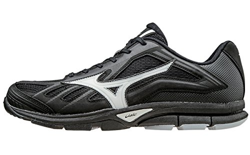 Male Baseball Player (Mizuno Players Trainer Mens Baseball Training Shoes 9 Black)