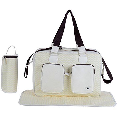 My Babiie Billie Faiers Cream Luxury Changing Bag