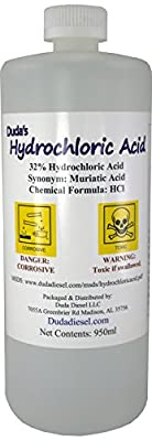 Concentrated Hydrochloric/Muriatic Acid Concrete Cleaner