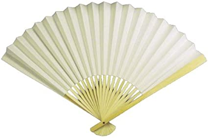 Star Shape Folding Fans USA July 4th Party Supplies Pack of 6