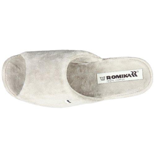 Romika Paris Damen Pantoffeln Grau (platin 708)