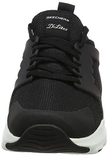 at D'Lite Black Bkw Skechers Top The Femme White Noir Ultra Baskets Tw6Eq7
