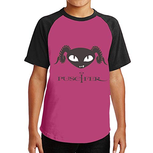 Robert S Villa Puscifer CuteYouth Boys & Girls Crewneck Short Sleeve T-Shirt Black