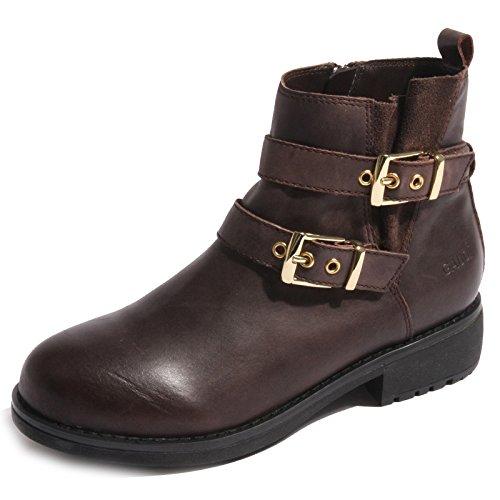 B0216 stivaletto donna GAUDI scarpa marrone boots shoes women Marrone