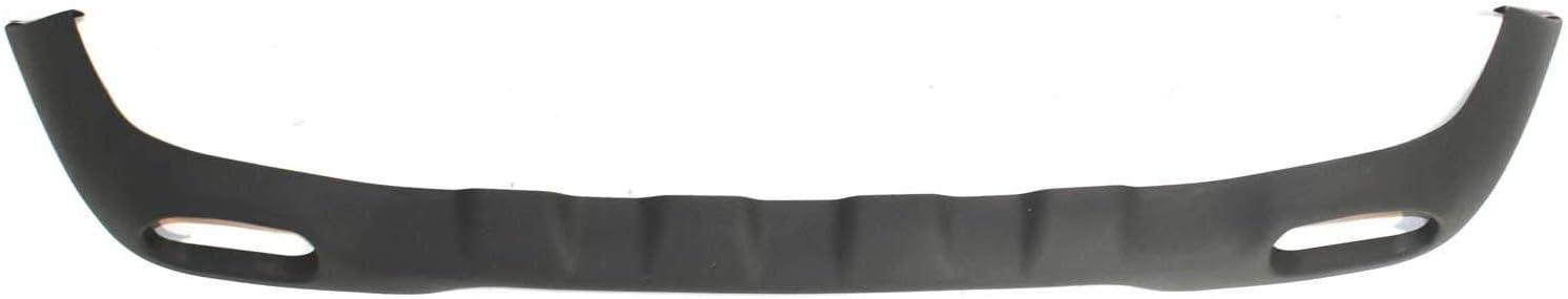 CarPartsDepot 350-18119-10 Front Bumper Valance Apron Deflector Air Dam FO1095172