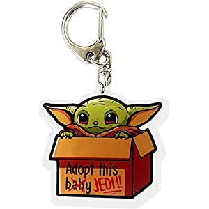 Cartoon Keychain for Adults Teens Keyring Cosplay Costume Accessories