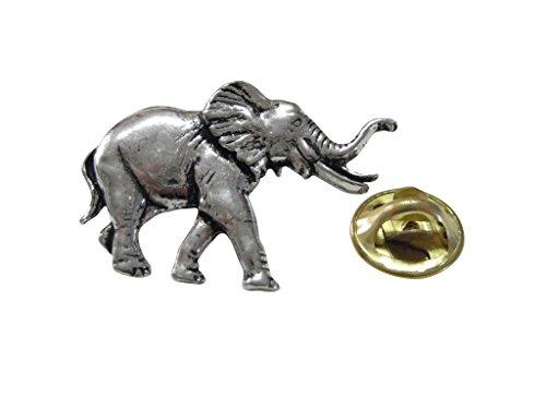 Walking Elephant Lapel Pin ()
