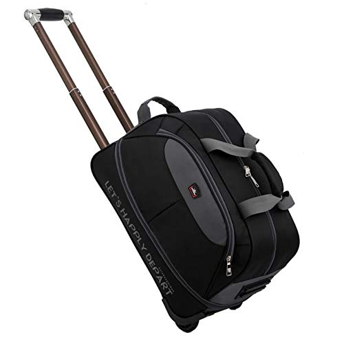 防水スーツケースバッグ厚手の子供用ローリングラゲッジトロリーケースレディース&男性用トラベルバッグキャリーオンウィール (Color : Blue, Luggage Size : 24+quot;) B07SH1N5F7 Blue 24+quot;