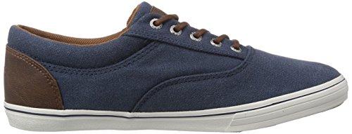 JACK & JONES JJVision Canvas Sneaker Dress Blues Herren Sneakers Blau (Dress Blues)