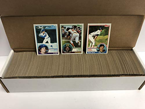 - 1983 Topps Baseball Complete Set (1-792) with Wade Boggs, Ryne Sandberg & Tony Gwynn Rookies