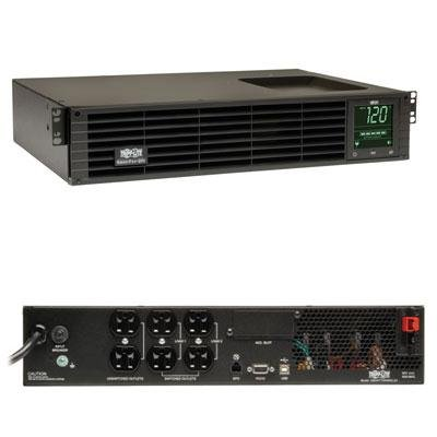 Tripp Lite SmartPro SMART750RMXL2U 750VA Tower/Rack-mountable UPS. SMART PRO UPS 750VA RM 2U 120V 5-15P LINE-INT 6OUT XL USB DB9 SLOT UPS. 750VA/450W - 16 Minute Full Load - 6 x NEMA 5-15R - Lineint Usb 120v