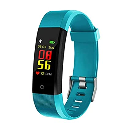 LNLZYF smart wristband Smart Bracelet Heart Rate Monitor Blood Pressure Monitor Fitness Watches Step Counter Message Push Estimated Price £40.62 -