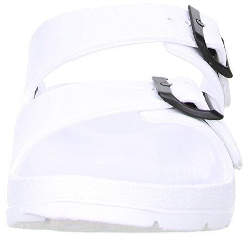 ConWay MISTRAL Damen Badeschuhe Latschen Sandalen Pantoletten Weiß