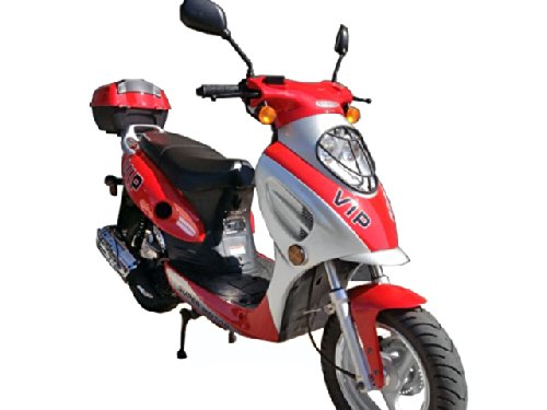 - TaoTao CY50-A Gas Street Legal Scooter - Red