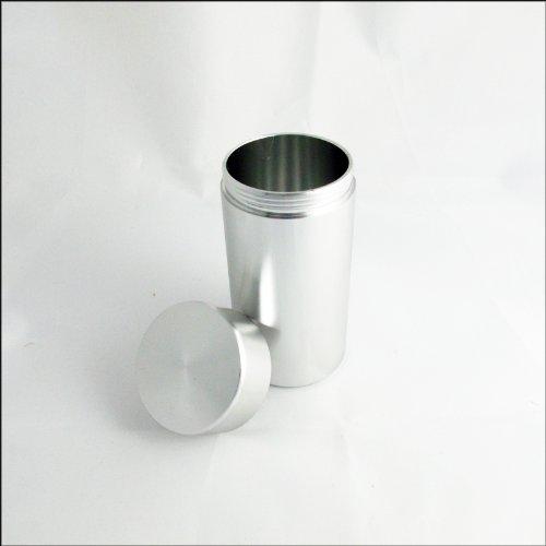 Aluminium étanche Water Proof Case Pill - Argent