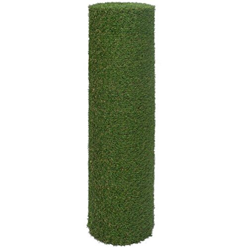 SKB Family Artificial Grass 6.6'x16.4'/0.8''-1'' Green Outdoor and Indoor Garden Wedding Plant Decor by SKB Family (Image #2)
