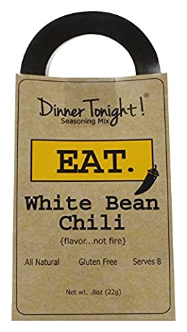 Dinner Tonight! White Bean Chili Seasoning Mix, 0.8 ounces (Backyard Beans)