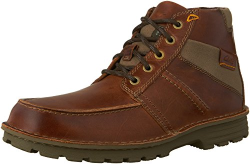 Clarks Mens Sawtel Sommelier In Pelle Color Cuoio