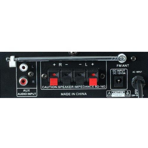 Skytronic AV-360 HiFi-Verst/ärker 2 x 40 Watt, USB, SD, MP3, UKW-Radio, AUX
