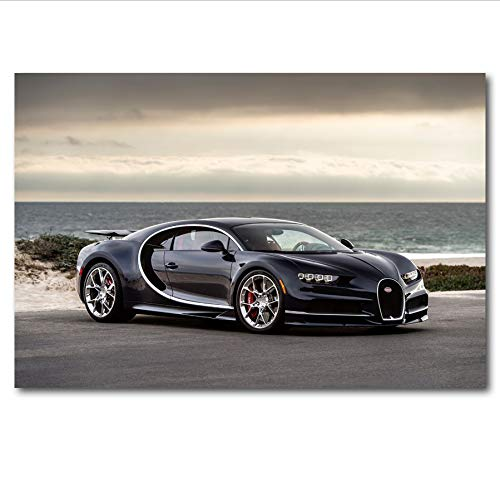 MZCYL Canvas Painting Wall Art Picture Super Car Posters Imprimir Lienzo Sin Marco 40 60 Cm