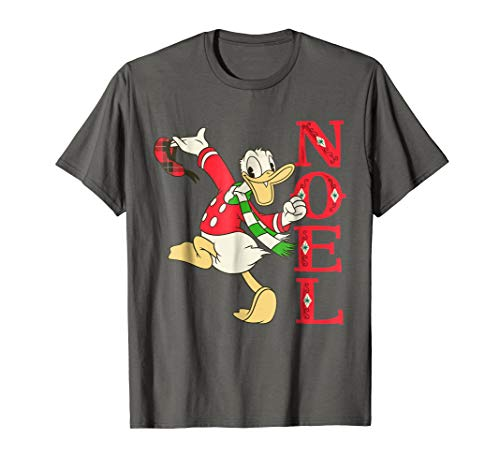 Disney Vintage Donald Duck Noel Holiday T-Shirt