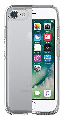 OtterBox Symmetry Clear - Funda Anti Caídas Fina y Elegante para iPhone SE 2020/8/7, Transparente