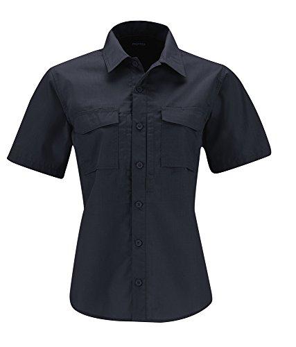 (Propper Women's REVTAC Short Sleeve Shirt, LAPD Navy, Medium)