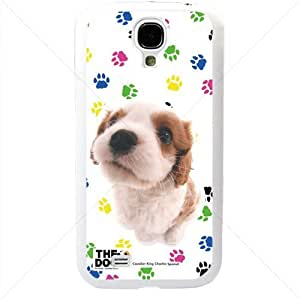 Cute Puppy Dogs For Samsung Galaxy S4 SIV I9500 TPU Case Cover (White) BY icecream design