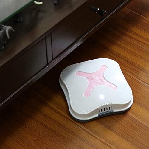 N / A Une Petit Automatique Aspirateur, Nettoyage Sol Robot USB 5V Silencieux Ménage Sweeper sans Fil, for Bureau (Color : Golden) Golden