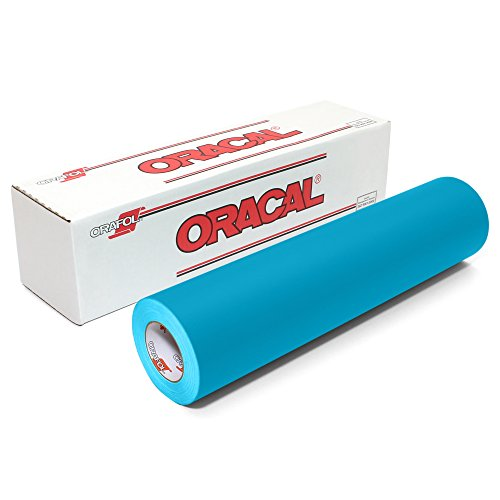 """ORACAL 631 Matte Vinyl 12 Inches by 150 Feet-Teal, 12"""" x 150',"""