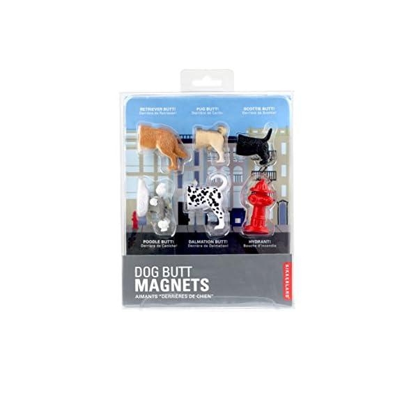 Kikkerland Dog Butts Animal Magnets, Set of 6 (MG17) 2