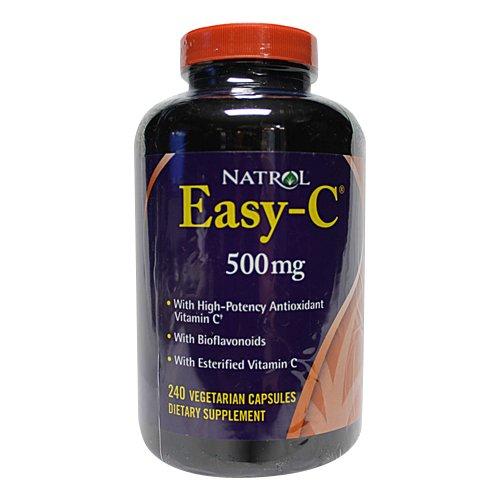 Natrol Easy C 500mg Vegetarian Capsules