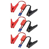 uxcell 3pcs EC5 Connector Emergency Jumper Cable Alligator Clamps Booster Battery Clips for Universal Car Jump Starter