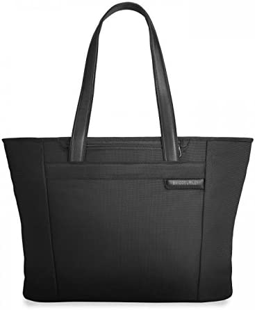 Briggs Riley Baseline-Large Shopping Tote Bag, Black, One Size
