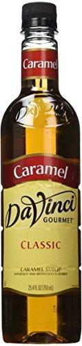 Davinci Gourmet 13304 Davinci Classic Flavor Syrup - 750Ml Plastic Bottle Caramel