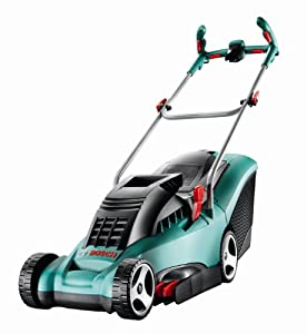 bosch rotak 34 ergoflex electric rotary lawnmower 34 cm cutting width old version. Black Bedroom Furniture Sets. Home Design Ideas