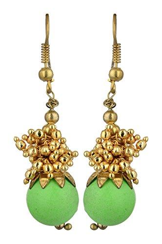 Kshitij Jewels Alloy Dangle  amp; Drop Earrings for Women  KJN075