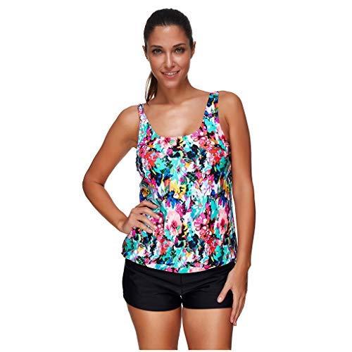 Ancoset Women Scoop Neck Cropped Sport Bikini Monokini Swimsuit Backless Bathing Beachwear CXX-Large - Natura Duvet Collection