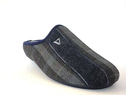 VALLEVERDE - Zapatillas de estar por casa para hombre azul MIX BLU MIX BLU