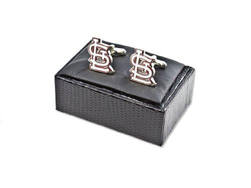 MLB St. Louis Cardinals Cut Out Logo Cuff Links