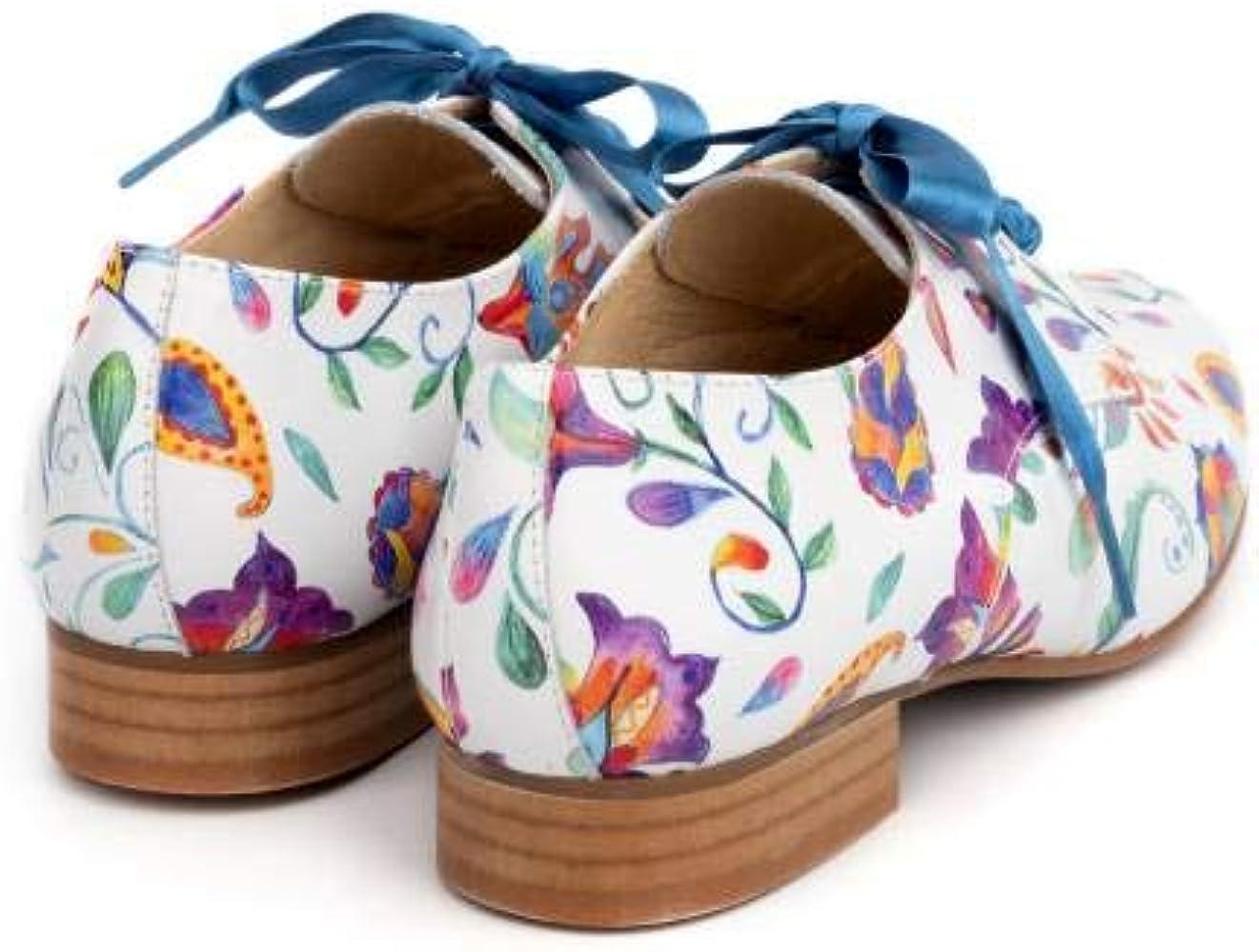 Zapatos Blucher Estampados Lazo SALONISSIMOS Color