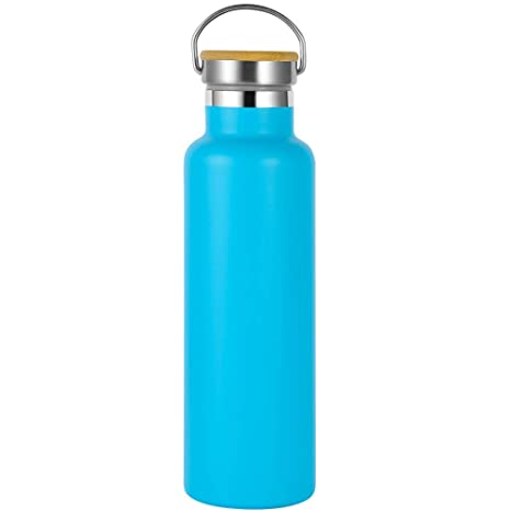 Olyee 600ml Acero Inoxidable Agua Botella, sin Bpa , 100 ...