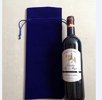 LM promoción 100 piezas al por mayor Lot – 100 pack-luxury franela para botella