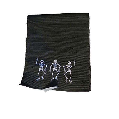 target Black Skeleton Halloween Table Runner 14