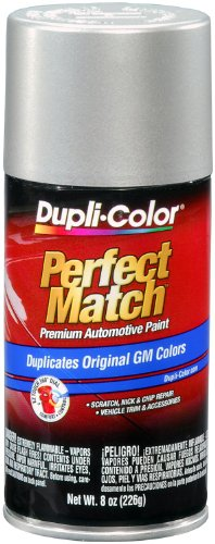 Dupli-Color BGM0528 Fine Silver Birch Metallic General Motors Exact-Match Automotive Paint - 8 oz. Aerosol