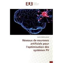 Réseaux de neurones artificiels pour l'optimisation des systèmes PV