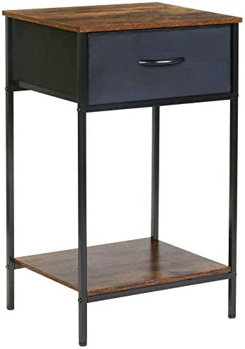 Cheap Kamiler Industrial Side Table rustic end table for sale