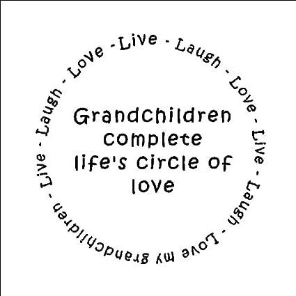 Amazoncom Grandchildren Complete Lifes Circle Of Love Family